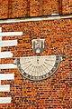 Sundial at Sandomierz town hall.jpg