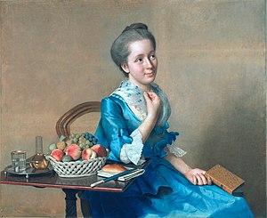 Suzanne Curchod - Suzanne Curchod (Jean-Etienne Liotard, c. 1761)