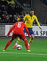 Sweden - Switzerland, 5 April 2015 (17048521695).jpg