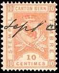 Switzerland Bern 1894 revenue 10c - 52 I-94 2-K.jpg