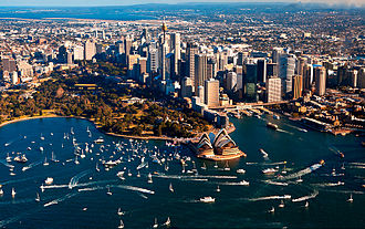 Sailing on Sydney Harbour Sydney Harbour welcomes Jessica Watson.jpg