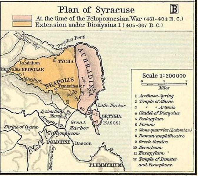 L'assedio di Siracusa dai Cartaginesi.