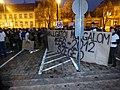 Szeged Kossuth Lajos sugárút, tüntetés az Orbán-kormány oktatási reformja ellen 2012-12-19 (1).JPG