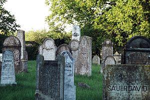 Tét - Image: Téti zsidó temető