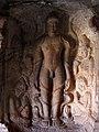 Tîrthankara jaina Gomateshvara. Cave4Badami.jpg