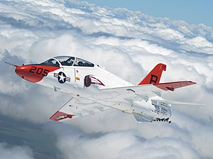 McDonnell Douglas T-45 Goshawk - The T-45A in flight