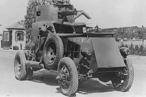 T7 Armored Car - A historical picture of the T7 Armored Car