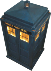 Wikipedia sourced TARDIS image