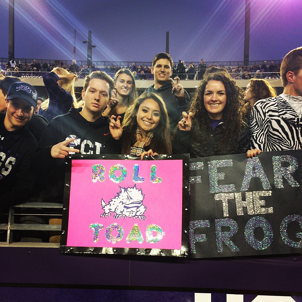 TCU Football Game Day Sign