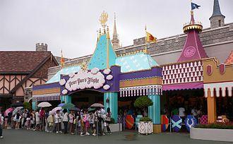 Peter Pan's Flight - Tokyo Disneyland