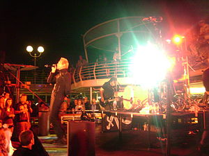 Thousand Foot Krutch - TFK on the Music Boat 2010