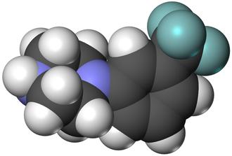 Trifluoromethylphenylpiperazine - Image: TFMPP 3D vd W