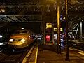 TGV Paris-Milan à Chambéry de nuit (novembre 2017).JPG