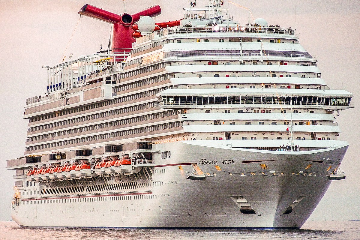 Carnival Vista Wikipedia - How do cruise ships float