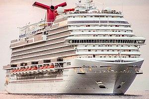 Vista-class cruise ship (Carnival) - Image: TRIESTE NAVI (26741027796) (cropped)