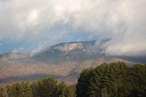 Table Rock State Park (South Carolina) - Image: Table Rock Mountain