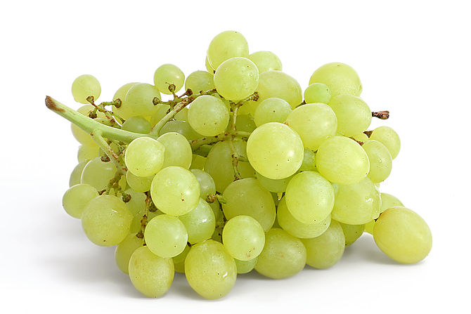 """White"" table grapes"