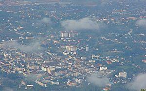 Taiping, Perak - Aerial view of Taiping City