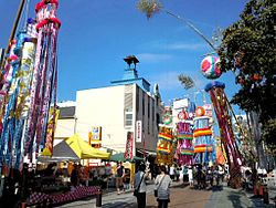 Taira Tanabata Festival, one of the more famous festivals for tanabata in Japan