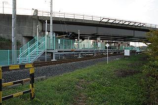 Takadano-tekkyō Station Railway station in Hitachinaka, Ibaraki Prefecture, Japan