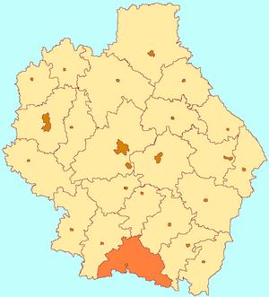 Zherdevsky District - Image: Tambov oblast Zherdevka