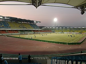 Tancheon Sports Complex - Image: Tanchon 20100223 1