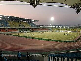 Tancheon Sports Complex - Image: Tanchon 20100223 1