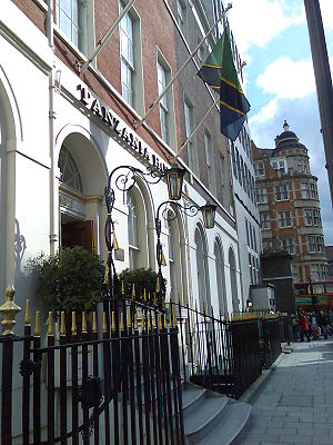 High commissioner (Commonwealth) - The Tanzanian High Commission in London. Tanzania and the United Kingdom are both members of the Commonwealth of Nations.