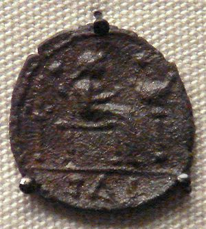 Catuvellauni - Coin of Tasciovanus, king of the Catuvellauni.