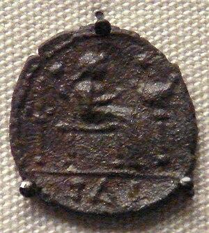 Catuvellauni - Coin of Tasciovanus, king of the Catuvellauni.