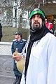 Tasu'a Mourning-Shia muslim in qom عزاداری روز تاسوعا در قم 30.jpg
