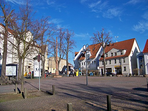 Taucha Marktplatz