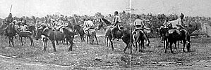 Tausūg people - Tausūg horsemen in Sulu, taken on 30 December 1899.