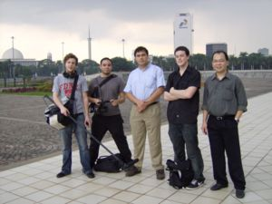 Truth in Numbers? - Documentary production team in Indonesia (February 2007)