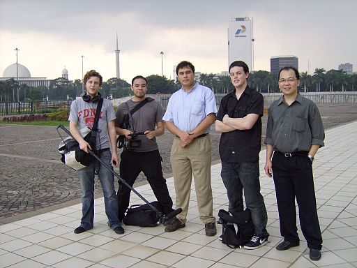 TeamAmericaandteamIndonesia(22-2-2007)
