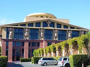 "Walt Disney Studios (Burbank) - The ""Team Disney"" building"