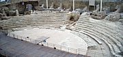Teatro Romano Cesaraugusta-vista desde arriba-3