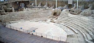 Zaragoza - Roman theatre