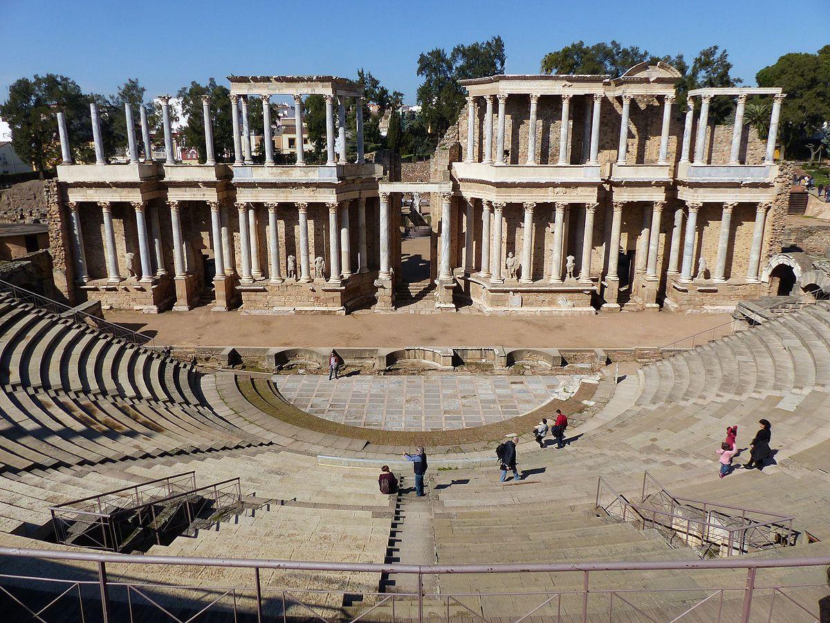 Roman Theatre (Mérida) - Wikipedia