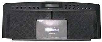 Telefunken - A modern Telefunken RC 881 cassette, CD player, and radio.