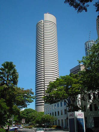 AXA Tower - Image: Temasek Tower