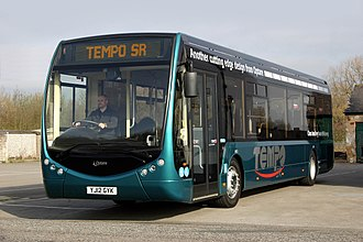 Bus - Optare Tempo in July 2012