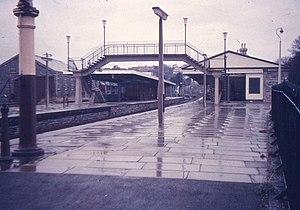 Pembroke and Tenby Railway - Tenby station