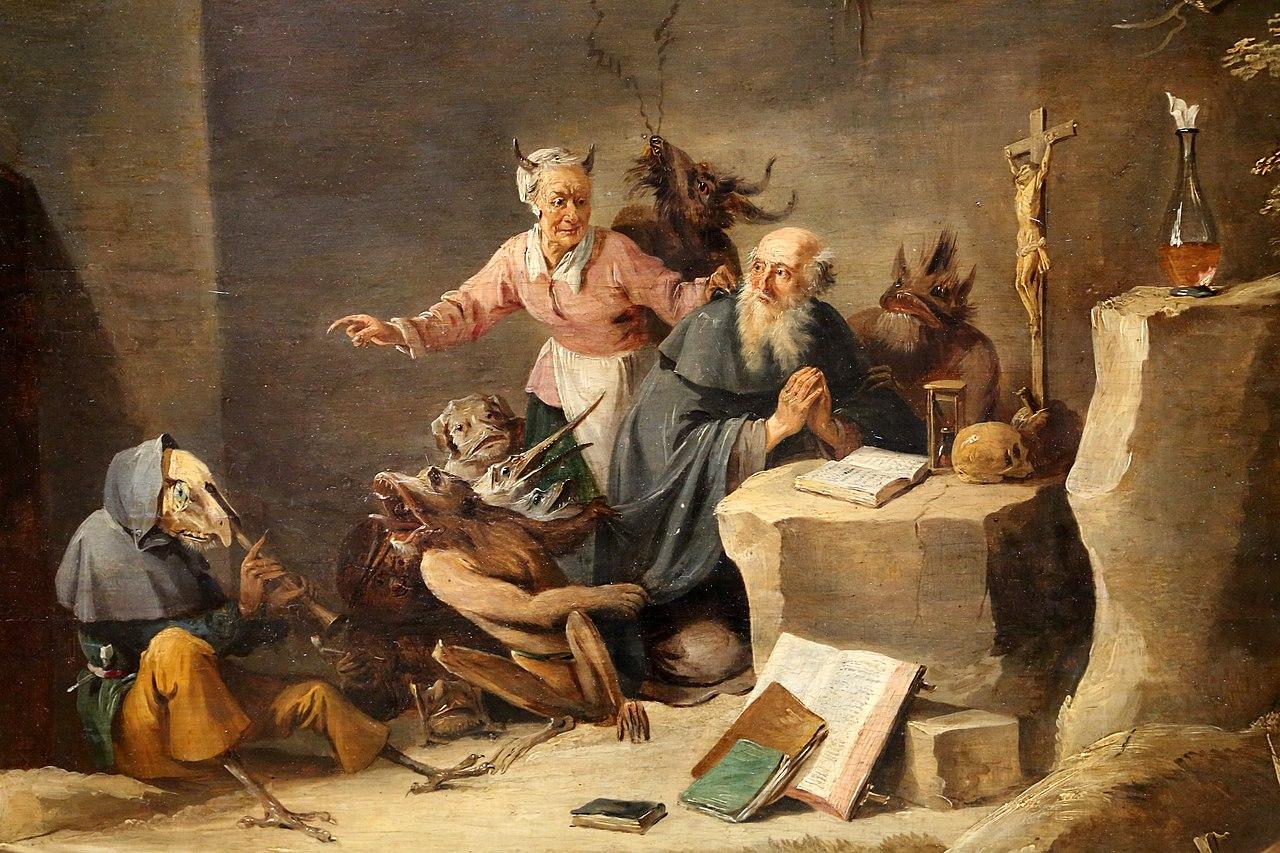 Картинки по запросу tentation de saint antoine