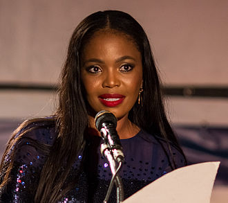 Africa Movie Academy Award for Best Actress in a Supporting Role - 2012 Best Supporting Actress winner Terry Pheto