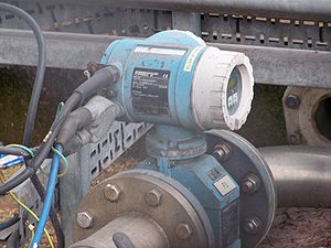 Water metering - Electromagnetic flow meter