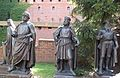 Teutonic Knights in the grounds of Malbork Castle in Poland.jpg