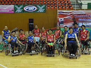 Thailand mens national wheelchair basketball team