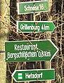 Tharandter Wald Wegweiser.JPG