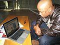 "Thato ""Scar"" Matlhabaphiri - TeachAIDS Recording Session (13550412364).jpg"